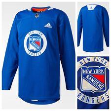 NWT ADIDAS New York Rangers NHL Authentic Practice Jersey  Men's Sz 50