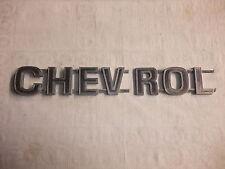 k1 altes Original Oldtimer Emblem Schriftzug Typenschild Marke US-Car CHEVROLET