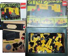 Lego Vintage 162 treno con istruzioni e scatola da completare