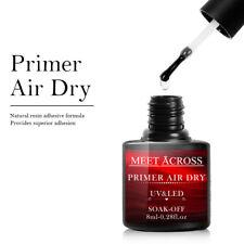 Conheça através de ar seco Gel Primer Esmalte Uv Led mergulhe Off Verniz Manicure Dicas