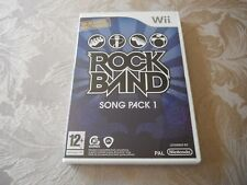 wii rock band song pack 1