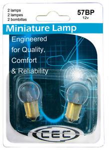 License Light Bulb CEC Industries 57BP