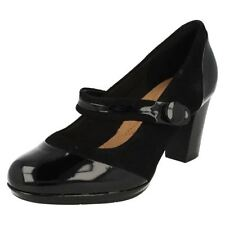 Block Heel Mary Janes Plus Size Shoes for Women