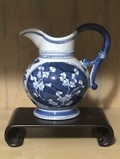Chinese art blue and white flower watering pot