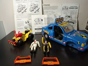 Crash Test Dummies Robots Tyco 1991 Voiture Et ATV