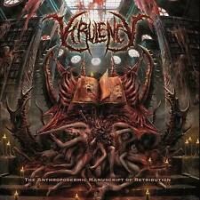 VIRULENCY (Spain) ‎– The Anthropodermic Manuscript.......CD 2016 (Brutal Death)