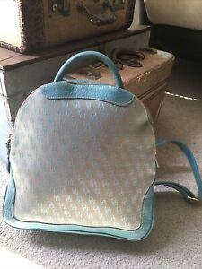Dooney & Bourke Signature Monogram Backpack W/ Adj Shoulder Straps S H4 838027