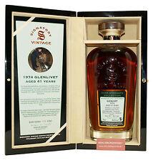 Glenlivet Signatory Vintage Rare Reserve 41 Jahre - 46,8% vol. 0,7 Liter