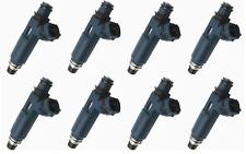 SET OF 8 LEXUS GX470 LX470 4.7L 2UZFE UZJ100 Genuine FUEL INJECTORS 23250-50040
