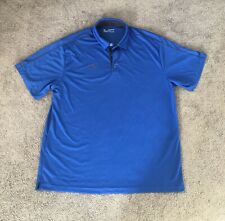 Mens Under Armour Heatgear Loose Short Sleeve Polo Shirt Size Xxl 2Xl