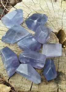Purple/ Blue Fluorite Free Forms , Crystal's - Free P&P