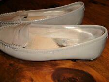 Woman  VGUC  MICHAEL KORS  Gray  Patent  Leather  Flats  Shoes   7M