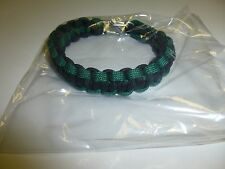 PARACORD WRIST BAND w/METAL-CLASP CONNECTION BRACELET WEIGHT INTEGRITY B53