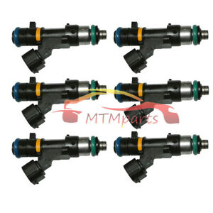6pc Fuel Injector 0280158042 for Nissan Murano 350Z V6 3.5L 16600CD700