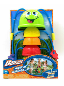 Wigglin' Waterpillar by Banzai with 8 Sprinkling Water Wigglers