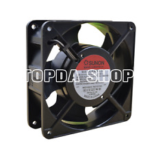1pc Sunon DP200A 2123XBT.GN Full Metal Circulaire Ventilateur AC220V 120*120*38mm 2 Wire