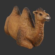 Lifesize Bactrian Camel Lying Realistic Indoor Outdoor Wild Animal Prop Model