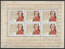 Vaticaan postfris 2006 MNH vel/sheet 1553 - Wolfgang Amedeus Mozart (X899)