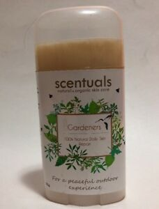 SCENTUALS. Gardeners 100% Natural Daily Skin Repair STICK 55g NEW