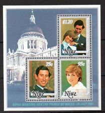 Niue 1981 Royal Wedding MNH mini sheet M.S. 433