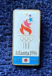Atlanta 1996 Olympic TBS Tokyo Broadcasting System Media Television Pin Japan