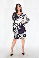 EMILIO PUCCI Vestito Corto Multicolore Stile Casual Taglia IT 44 - M Donna Woman