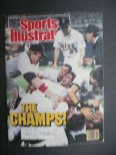 Sports Illustrated November 2, 1987 Minnesota Twins Frank Viola MLB Nov '87 A