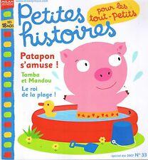 Petites histoires Pour les tout-petits n° 33 Couleurs Plage Revue Milan 18  mois
