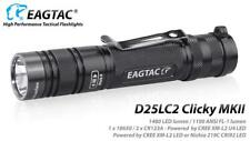 Eagletac D25LC2 Clicky MKII XM-L2 U4 LED Flashlight - 1480 Lumen, Cool White