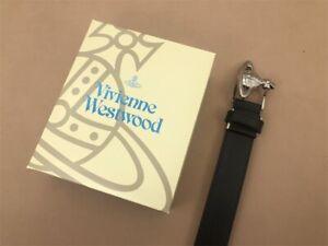 Japanese Line Vivienne Westwood Orb Buckle Leather Belt