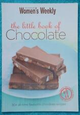 WOMENS WEEKLY~THE LITTLE BOOK OF CHOCOLATE Cookbook~Dessert/Biscuits/Slices/Cake
