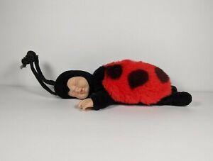 "Anne Geddes Baby Ladybug Bean Bag Filled Collection Plush Sleep Baby Doll 9"""