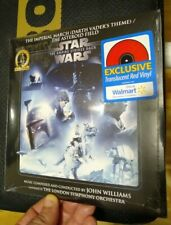 """Star Wars Empire Strikes Back Imperial March 7"""" Red Vinyl sealed COLLETORS"""