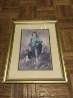 Blue Boy Thomas Gainsborough Framed Matted Print