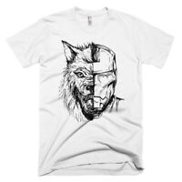 Direwolf Iron Man Mash Up T Shirt Game Of Thrones Tony Stark Avengers Targaryen