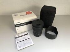 Sigma 50mm F1.4 DG HSM A Art Objektiv für Sony A