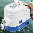 Boat Bilge Water Pump Automatic Submersible 12v 1100gph Marine Auto Float Yacht photo