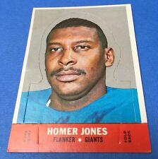 1968 Topps Football Stand-up #9  HOMER JONES / GIANTS