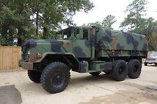 1984 American General 5 ton 6X6 cargo truck, M923, Cummins 14L inline 6 Diesel
