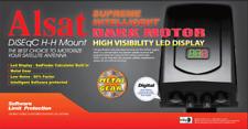 Alsat Dark Supreme Digital LED All Metal Gearing DiSEqC Satellite Dish Motor