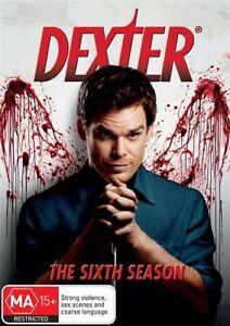 Dexter : Season 6 (DVD, 2013, 4-Disc Set) Region 4 - NEW+SEALED