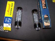 Mullard el34 , one pair.....xf4 type used , matched