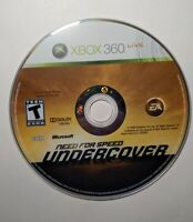 Need For Speed Undercover Microsoft Xbox 360 Game Disc Only Free Ship