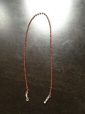 Vintage Red Crystal Bead Glasses Chain