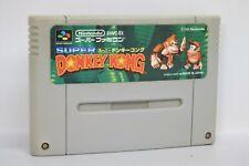 SUPER DONKEY KONG 1 Super Famicom Nintendo Free Shipping sfc