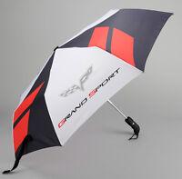2005-2013 Corvette C6 Compact Umbrella w/ Grand Sport Logo 666304F70