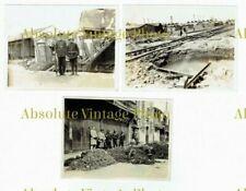OLD CHINESE PHOTOGRAPHS RUINS / DESTRUCTION ETC BATTLE OF SHANGHAI CHINA 1937 ?