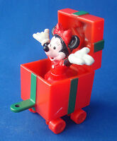 "Disney Minnie Mouse train caboose Christmas 3"" ornament Applause"