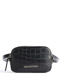 Valentino Bags JUNIPER Croc Print  Fanny Pack  - Black