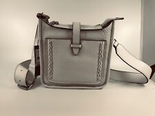 Rebecca Minkoff Mini Unlined Feed Bag with Whipstich 100% Authentic Optic White